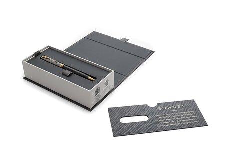 **Parker Sonnet Premium - Black Silver GT