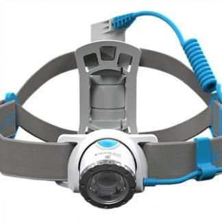 Фонарь светодиодный налобный LED Lenser NEO10R синий