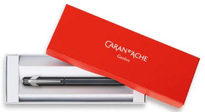 Carandache Office 849 Classic - Matte Navy Blue