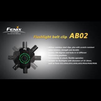 Клипса для фонарей Fenix