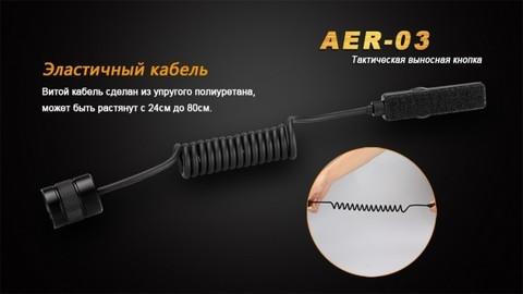Выносная тактическая кнопка для фонарей Fenix (TK16